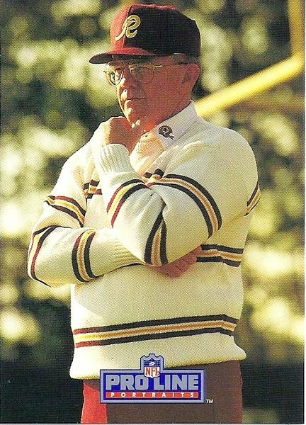 Joe Gibbs 1991 ProLine Portraits