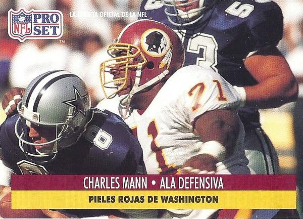 Charles Mann 1991 Pro Set Spanish