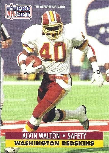 Alvin Walton 1991 Pro Set