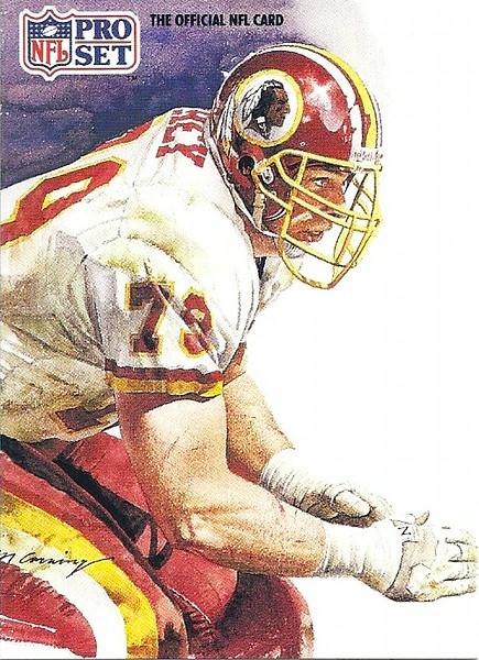 Jim Lachey Pro Bowl 1991 Pro Set