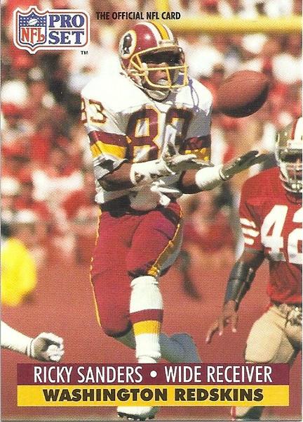 Ricky Sanders 1991 Pro Set