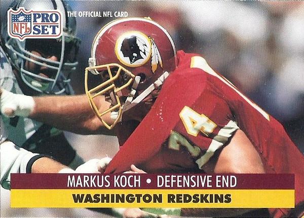 Markus Koch 1991 Pro Set