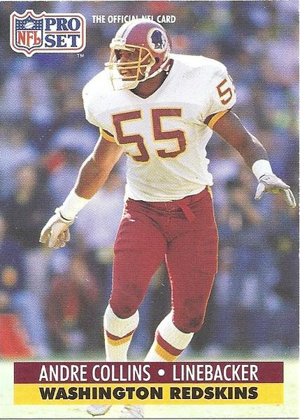 Andre Collins 1991 Pro Set