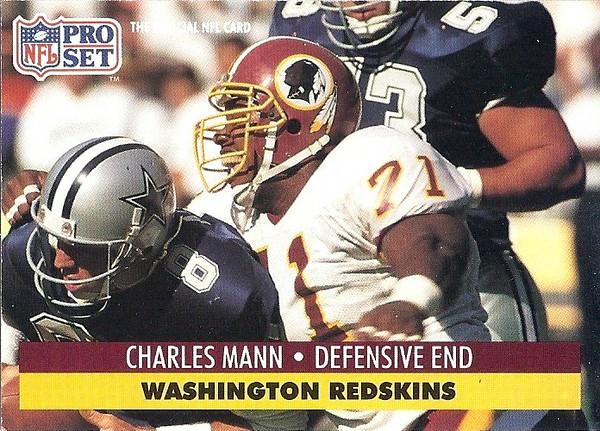 Charles Mann 1991 Pro Set