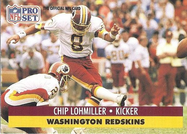 Chip Lohmiller 1991 Pro Set