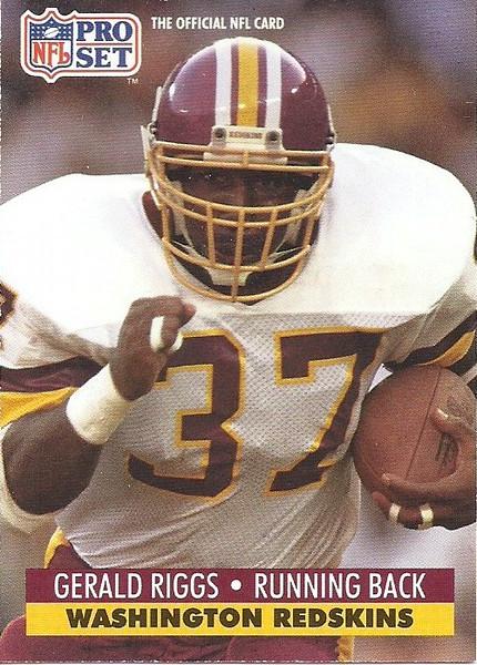 Gerald Riggs 1991 Pro Set
