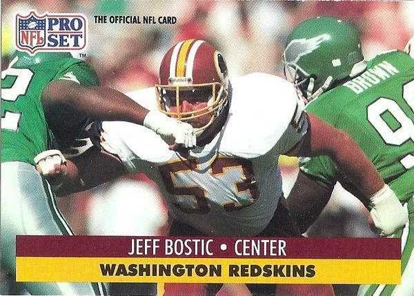 Jeff Bostic 1991 Pro Set