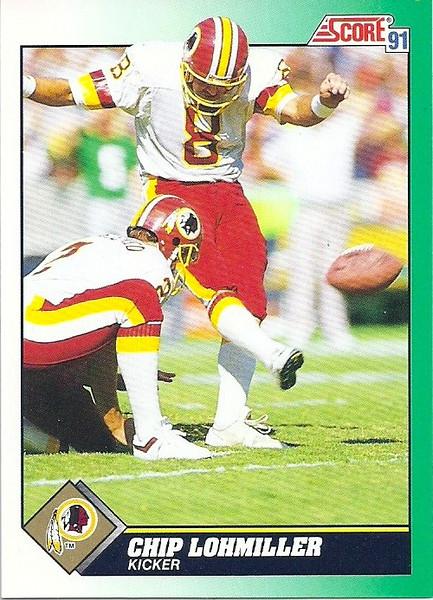 Chip Lohmiller 1991 Score