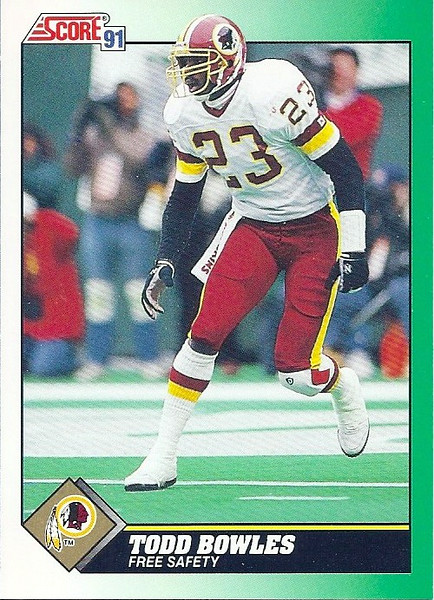 Todd Bowles 1991 Score