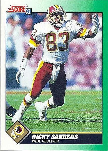 Ricky Sanders 1991 Score