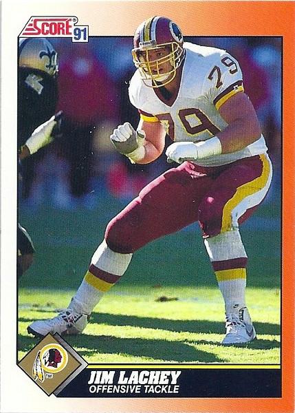 Jim Lachey 1991 Score