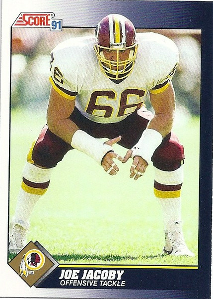 Joe Jacoby 1991 Score