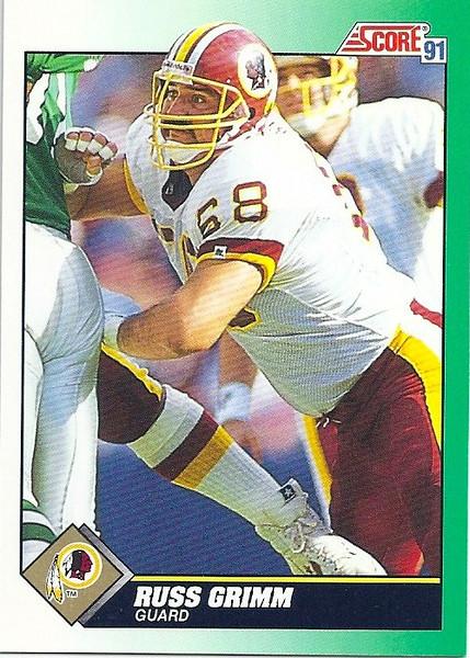 Russ Grimm 1991 Score