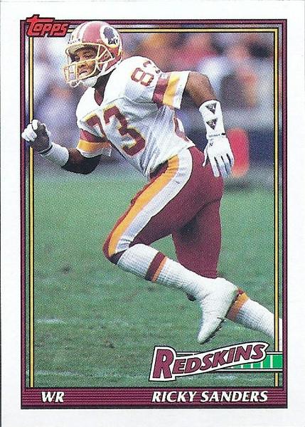 Ricky Sanders 1991 Topps