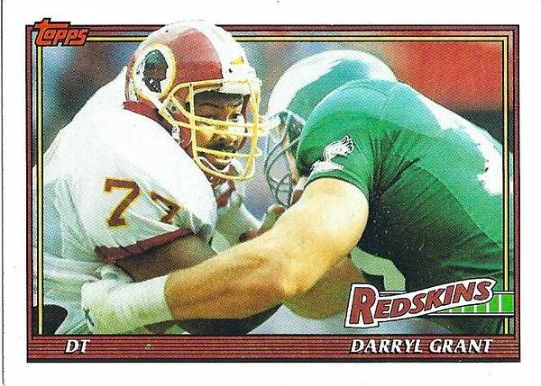 Darryl Grant 1991 Topps