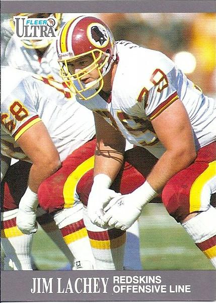 Jim Lachey 1991 Ultra