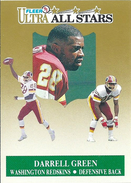Darrell Green All Stars 1991 Ultra
