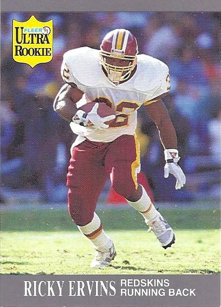 Ricky Ervins 1991 Ultra
