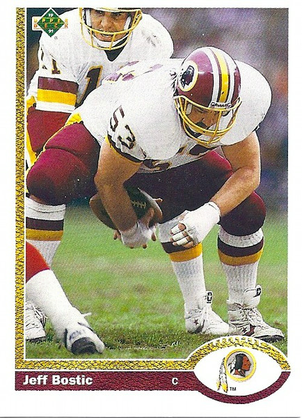 Jeff Bostic 1991 Upper Deck