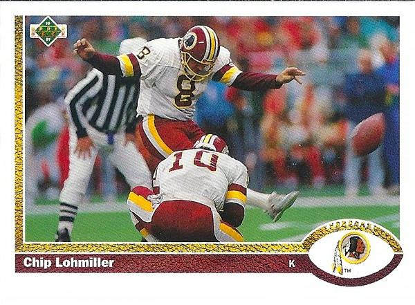 Chip Lohmiller 1991 Upper Deck