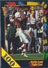 Keith Cash 1991 Wild Card Draft 100 Stripe