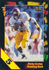 Ricky Ervins 1991 Wild Card 5 Stripe Draft