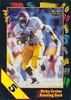Ricky Ervins 1991 Wild Card 5 Stripe Draft