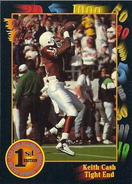 Keith Cash 1991 Wild Card Draft