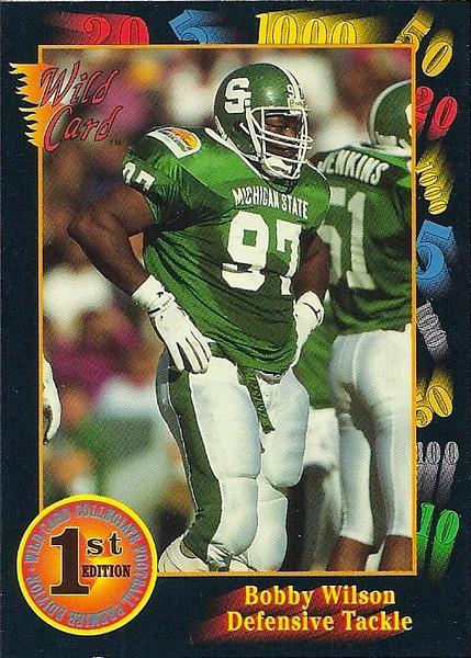 Bobby Wilson 1991 Wild Card Draft