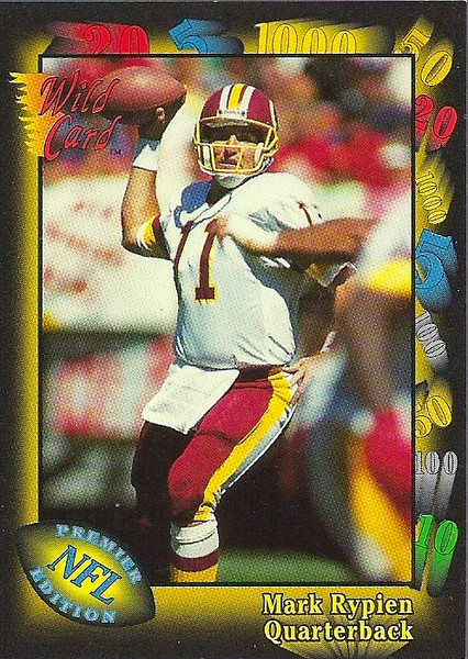 Mark Rypien 1991 Wild Card