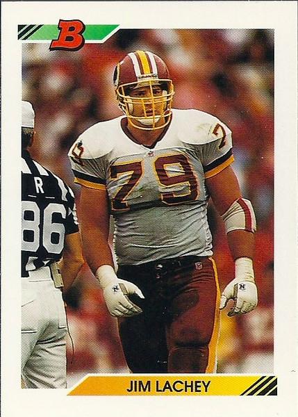 Jim Lachey 1992 Bowman