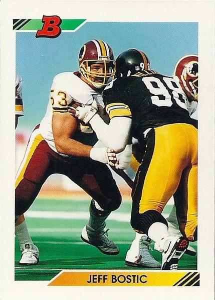 Jeff Bostic 1992 Bowman
