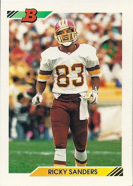 Ricky Sanders 1992 Bowman