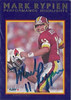 1992 Fleer Mark Rypien Highlights Autographs