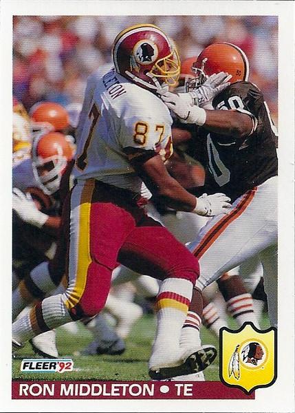 Ron Middleton 1992 Fleer