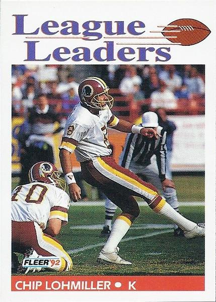 Chip Lohmiller League Leaders 1992 Fleer
