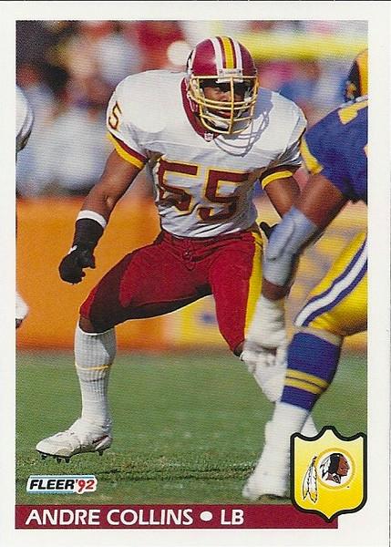 Andre Collins 1992 Fleer