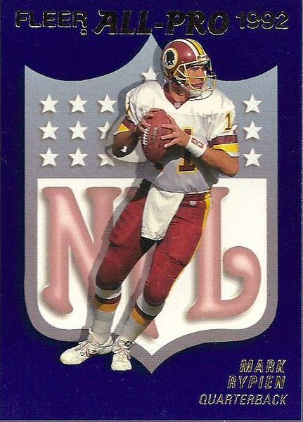 Mark Rypien 1992 Fleer All-Pro