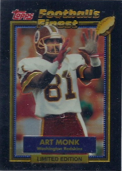 1992 Topps Finest Art Monk