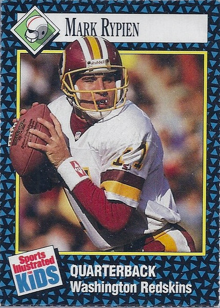 1992 SI For Kids Mark Rypien