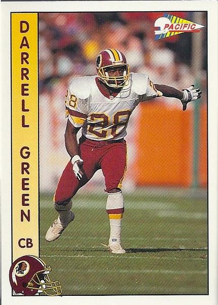 Darrell Green 1992 Pacific
