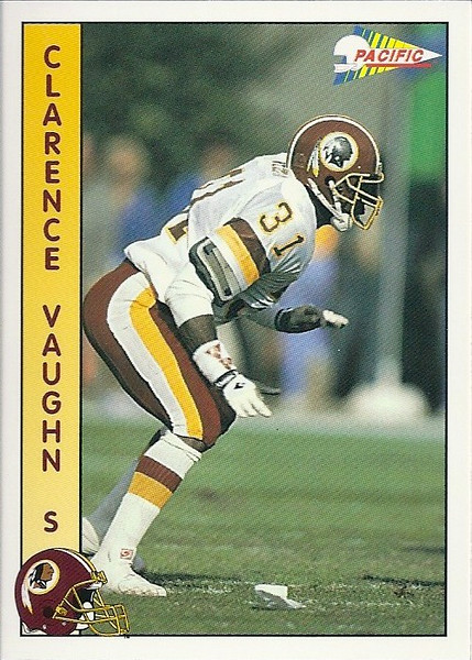 Clarence Vaughn 1992 Pacific