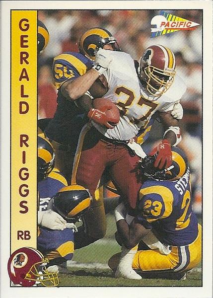Gerald Riggs 1992 Pacific
