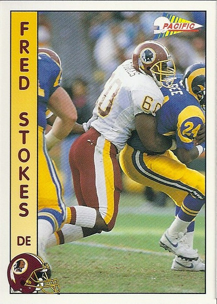 Fred Stokes 1992 Pacific