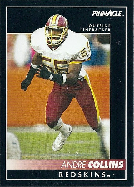 Andre Collins 1992 Pinnacle