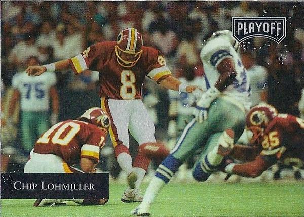 Chip Lohmiller 1992 Playoff