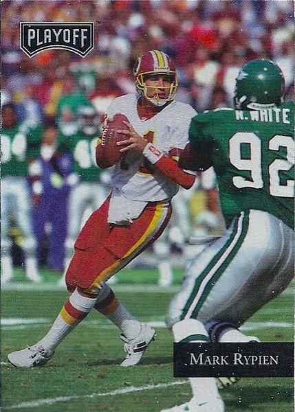 Mark Rypien 1992 Playoff