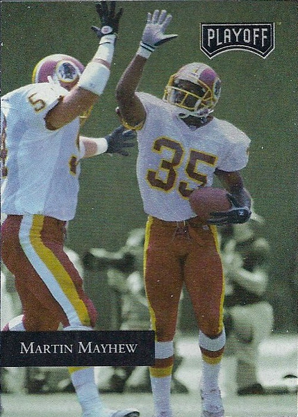 Martin Mayhew 1992 Playoff