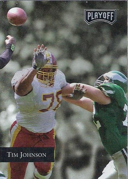 Tim Johnson 1992 Playoff
