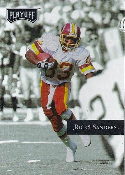 Ricky Sanders 1992 Playoff